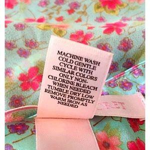 Victoria's Secret Intimates & Sleepwear - VICTORIA'S SECRET Sheer / Satin Open Front Nightie
